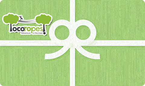 Gift Card - Emailed - Loco Ropes!