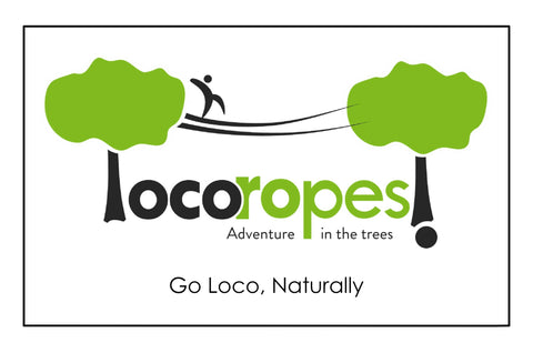Gift Card - Physical - Loco Ropes!
