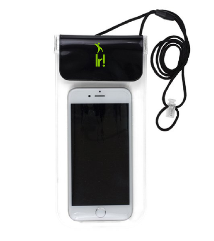 "All Purpose Waterproof Cell Phone and Accessories Carrying Case with 35"" Adjustable Breakaway Lanyard"