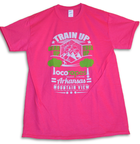 TShirt Train Up - Loco Ropes!