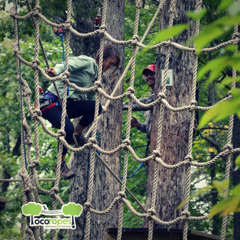 Book Now for Loco Ropes Treetop Adventure and Receive a Discount