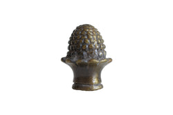 Unique Brass Acorn Lamp Finial