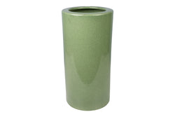 Celadon Crackle Porcelain Umbrella Stand 18""