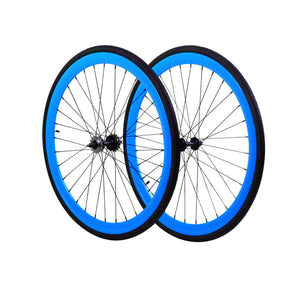 Wheelset - Blue 700c