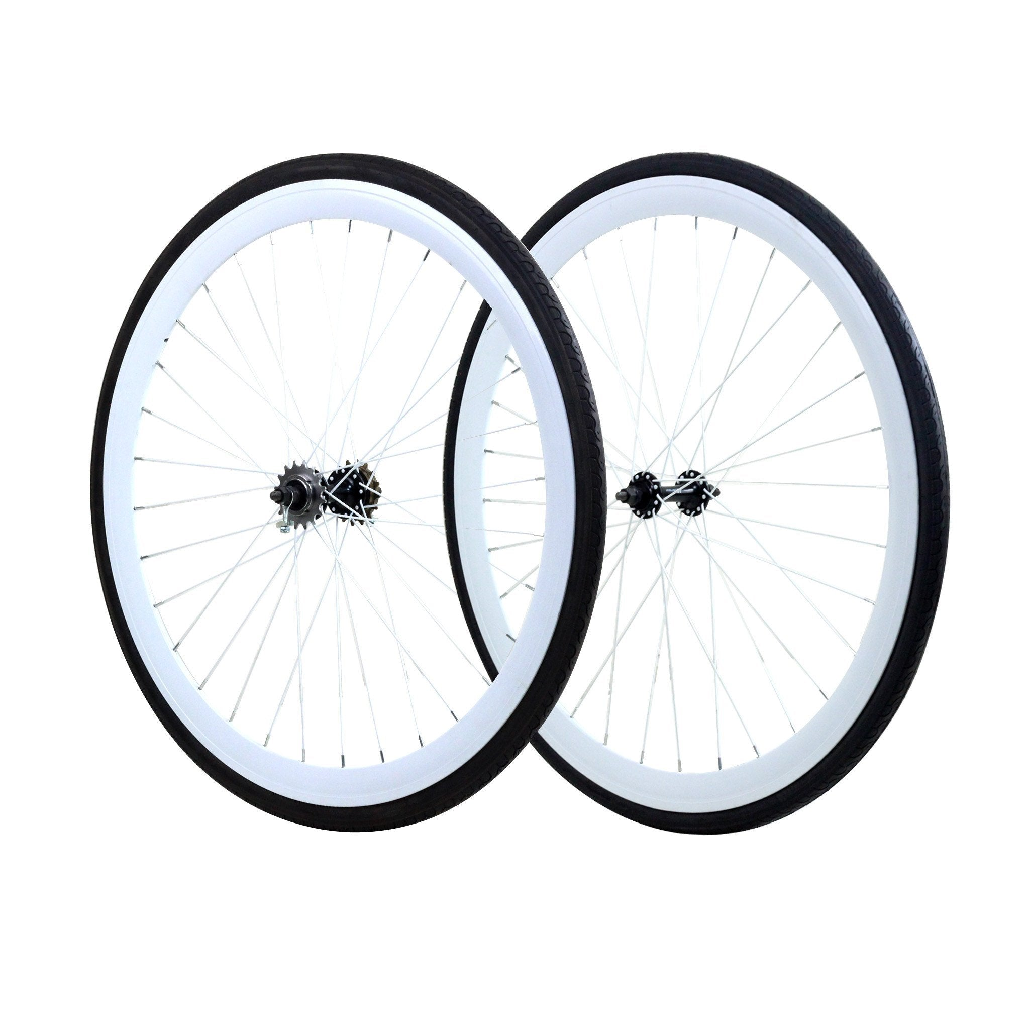 Wheelset - White 700c