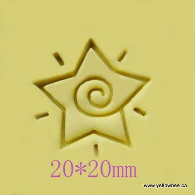 Soap Stamp - Star - SS038