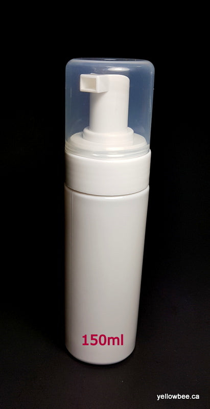 PET Foamer Bottle - White - 150ml / 5.07oz (C)