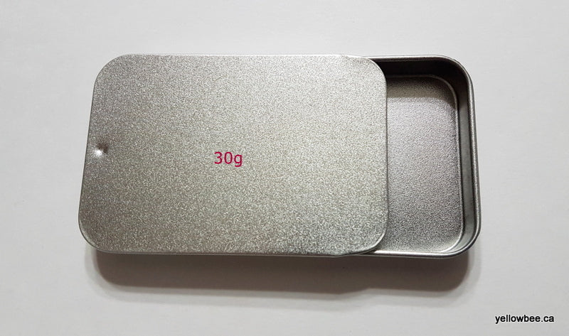 Square Metal Tin - 30g / 1oz
