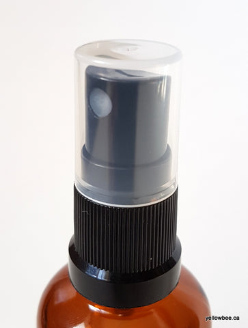 New Mister (Black Ribbed) - for Essential Oil Bottle