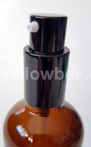 New Pump (Shiny Black) - for Essential Oil Bottle