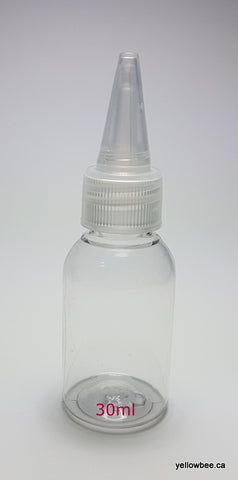 Clear PET Dispensing Bottle - 30ml
