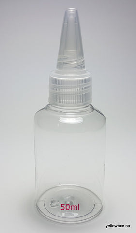 Clear PET Dispensing Bottle - 50ml