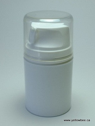 Airless Pump Bottle - White - 50ml