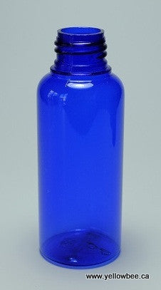 Plastic Bullet Bottle - Cobalt Blue - 100ml