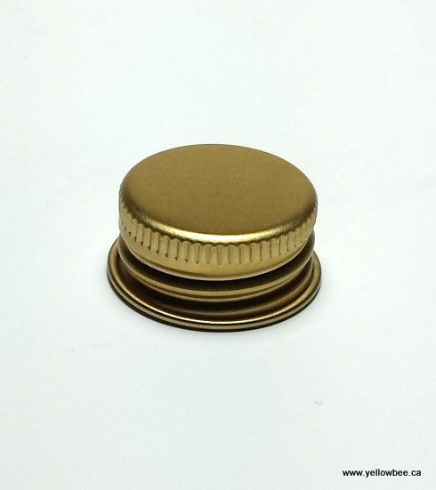 Aluminum Lid (Gold) - 24/410 (Fits all our Plastic Bottles)