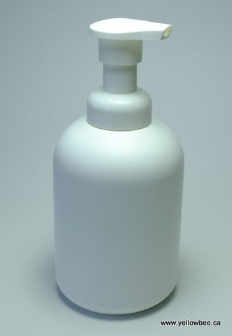 Foamer Bottle - Plastic - White - 250ml