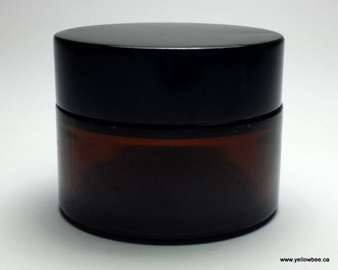 Amber Glass Jar - 50g / 1.8oz