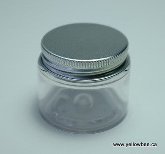 Clear PET Jar - Aluminum Lid - 30ml
