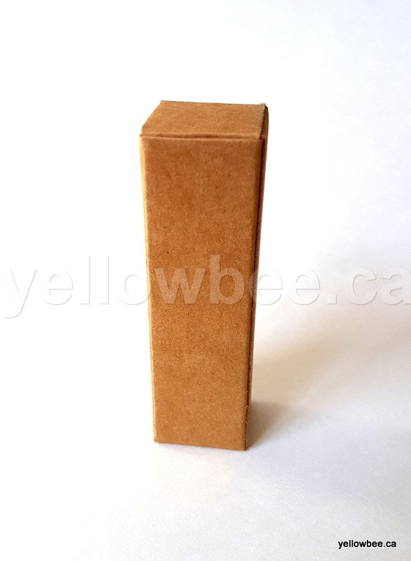 Kraft Box for Lip Balm Tube - Brown (20pcs)