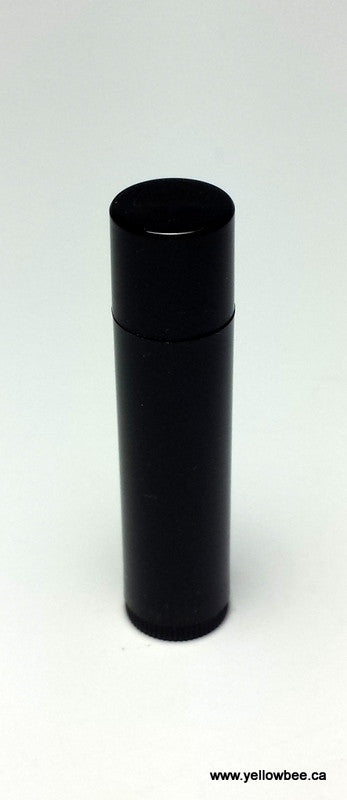 Lip Balm Tube - Black - 4.5g