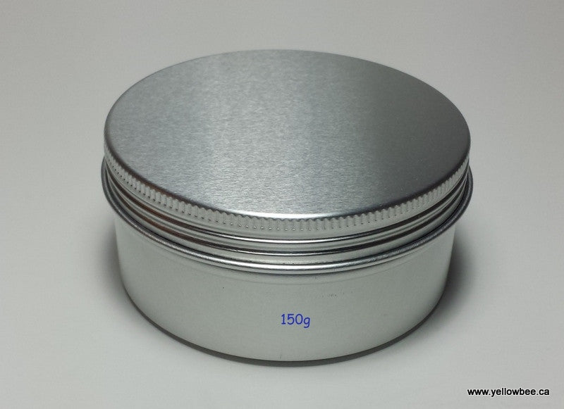 Metal Tin with Screw Lid - 150g / 5.29oz