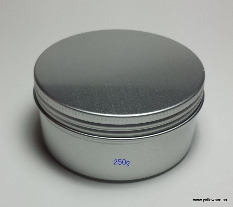 Metal Tin with Screw Lid - 250g / 8.82oz