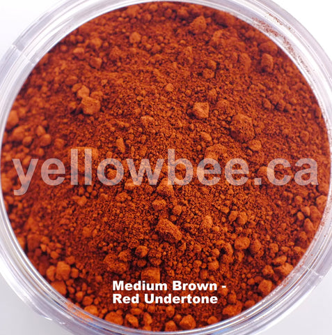 Medium Brown - Red Undertone - 10g