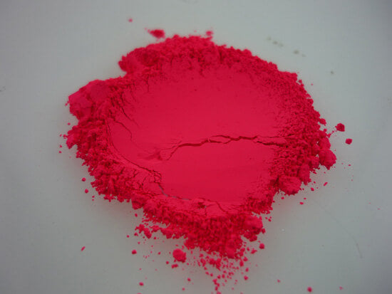 Fluorescent Neon Brilliant Red Pigment