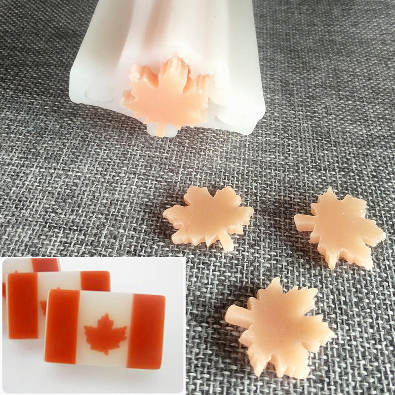 Soap Mold - Maple Leaf