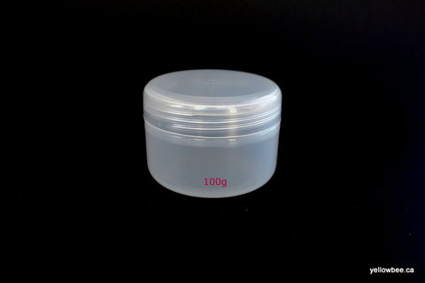 Single Wall Jar (Translucent) - 100g