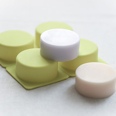 Soap Mold - 4 Cavity Round - SM-013