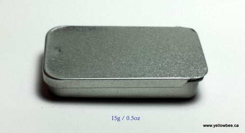Square Metal Tin - 15g / 0.5oz