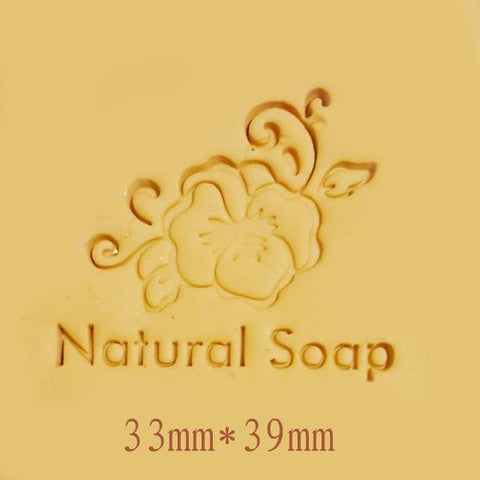 Soap Stamp - Flower Natural - SS076
