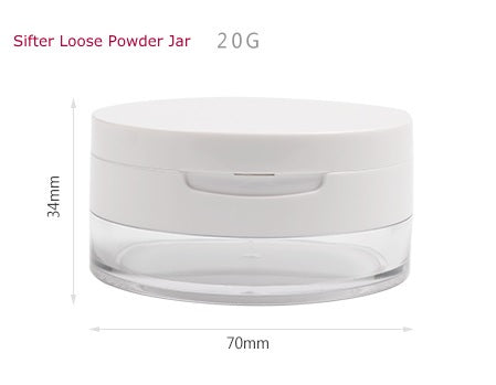 Premium Sifter Loose Powder Jar - 20g