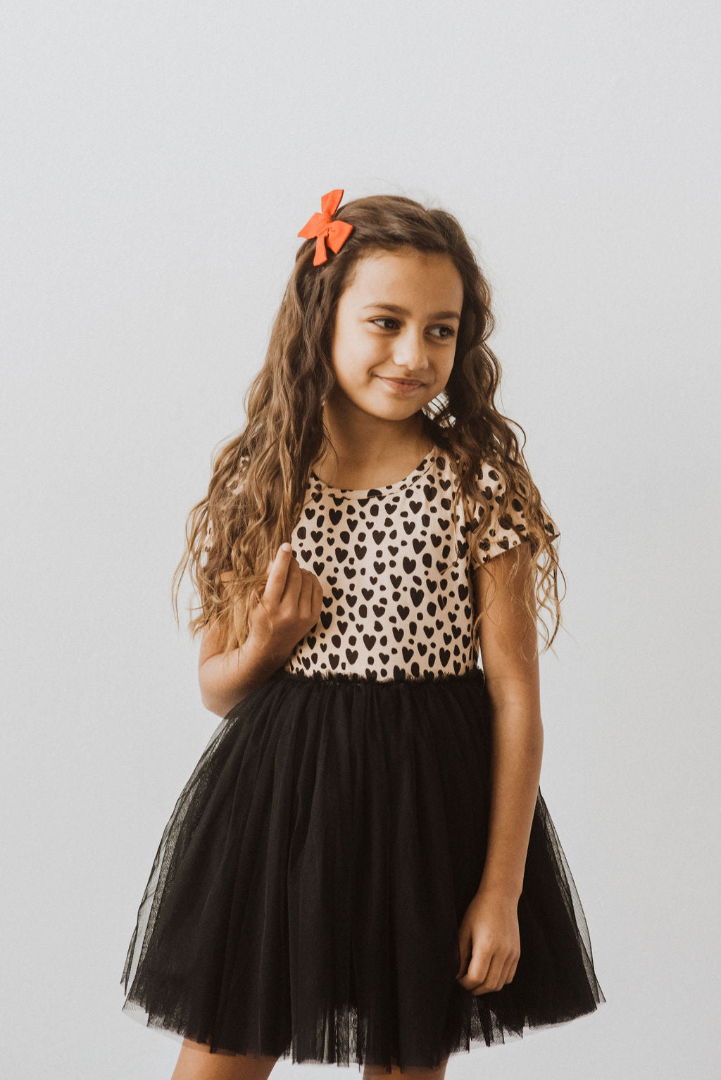 Leopard Heart Tutu Dress
