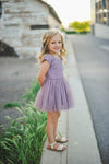 Purple Lace Tutu Dress - Taylor Joelle
