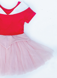 The Pink Princess Dress - Short Sleeves