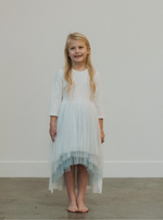 Load image into Gallery viewer, Snow Queen Dress - short sleeves