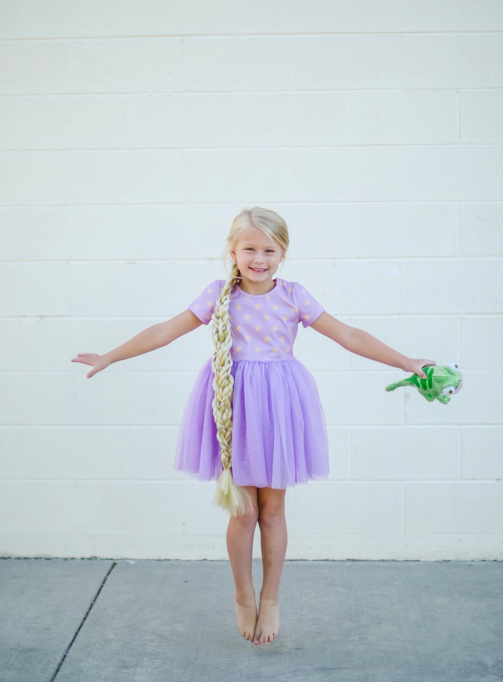 The Purple Sun Dress