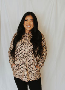 Leopard Heart Tunic - Adult