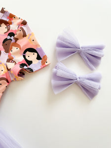 The Friendship Tulle Bows