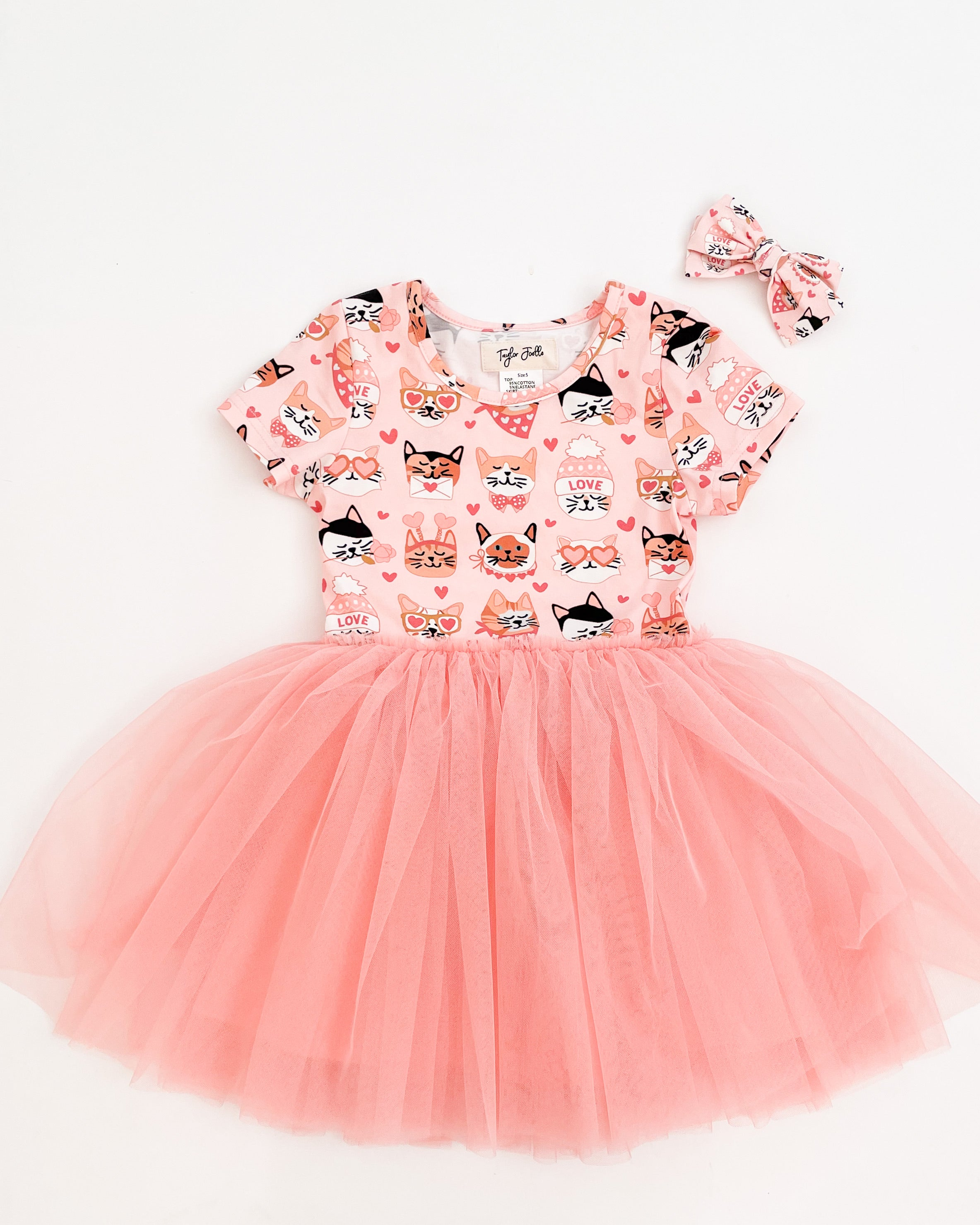 Valentine Kitty Tutu Dress