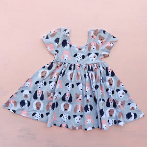 Puppy Swing Dress