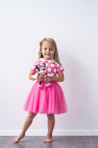 The Pink Polka Dot Vacation Dress