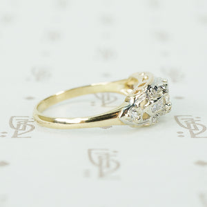 Vintage 1930's Diamond Set Engagement Ring