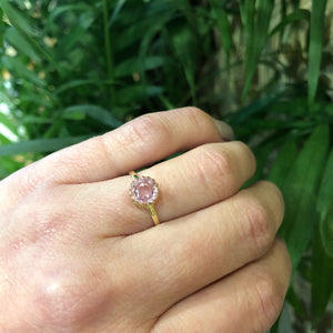 The Pale Pink Vintage Tourmaline Ring by 720