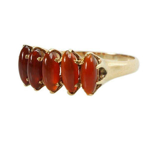 Beautiful Victorian Gold Ring with Carnelian