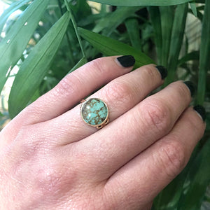 The Green Beauty A Specimen Turquoise Ring