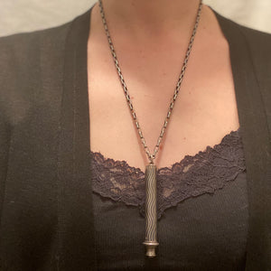 The Wavy Niello Pencil Necklace from Amsterdam
