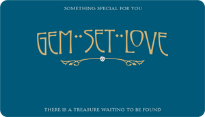 Gem Set Love Gift Card